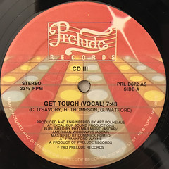 CD III:GET TOUGH(LABEL SIDE-A)
