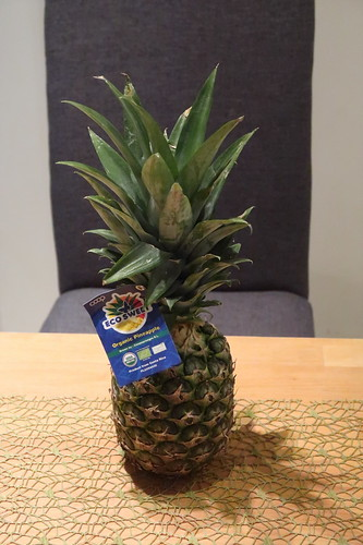 Ananas aus dem SuperBiomarkt