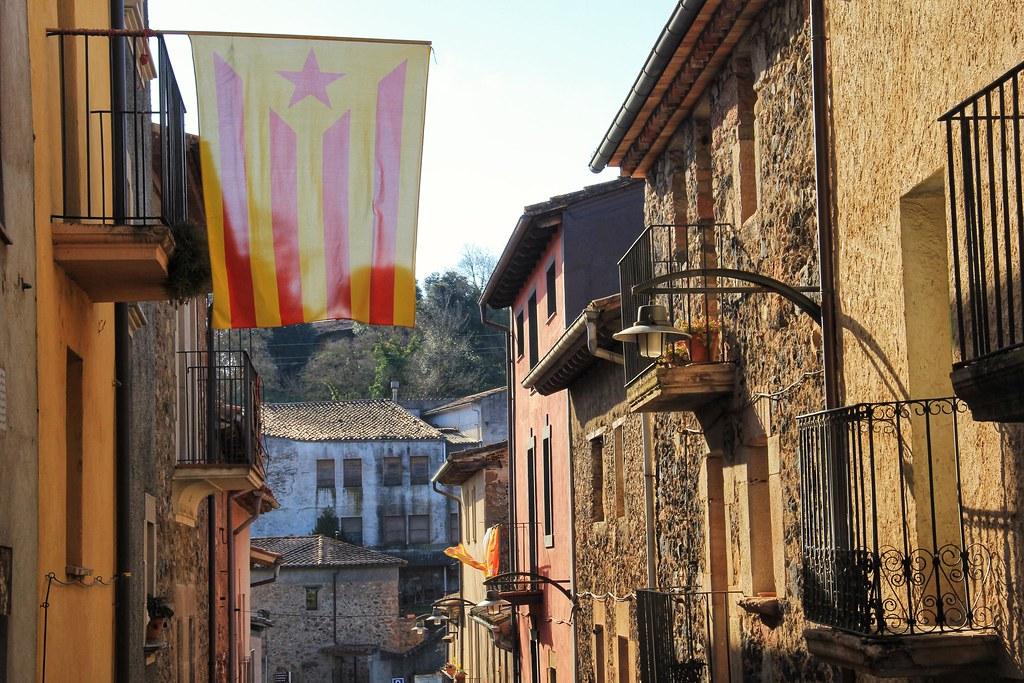Streets of Santa Pau