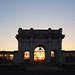 Sunset at the Nottingham War Memorial
