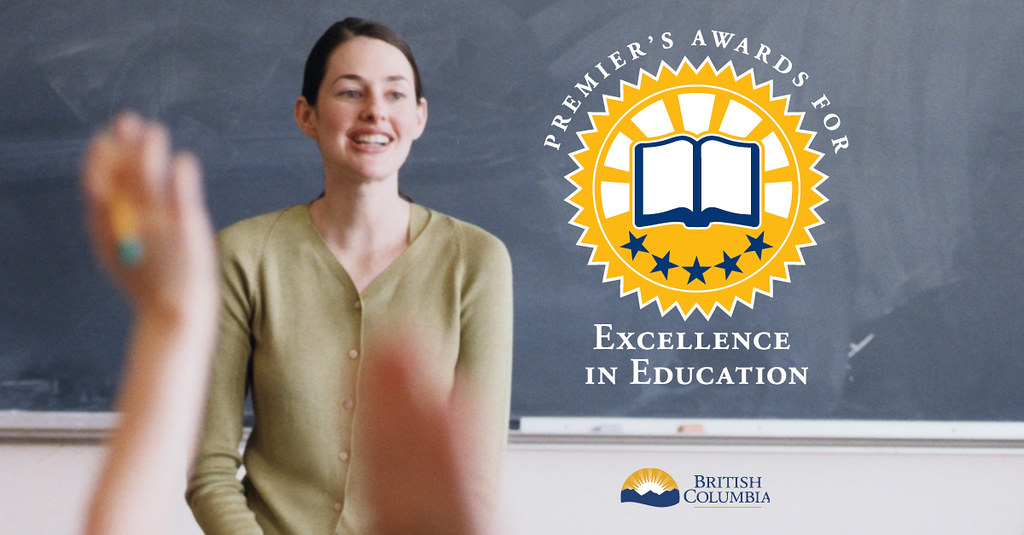 Nominations open today for the new Premier's Awards for Excellence in Education, an opportunity to recognize the enormous contributions of education professionals who go above and beyond to make life better for students in British Columbia.