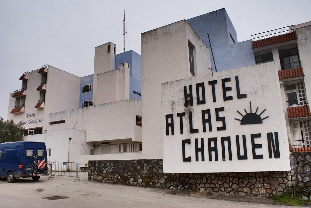 L'assez repoussant Hotel Atlas de Chefchaouen.