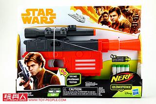 孩之寶《星際大戰外傳:韓索羅》NERF「發光打擊」(GLOW STRIKE) 系列