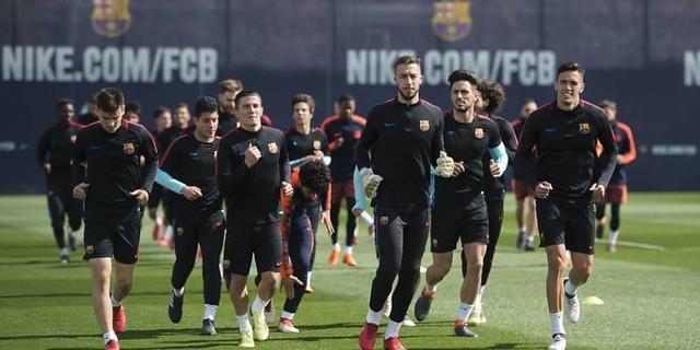 Saat ini Hanya 6 Pemain Barcelona yang Akan Ikut Laga Akhir Pekan