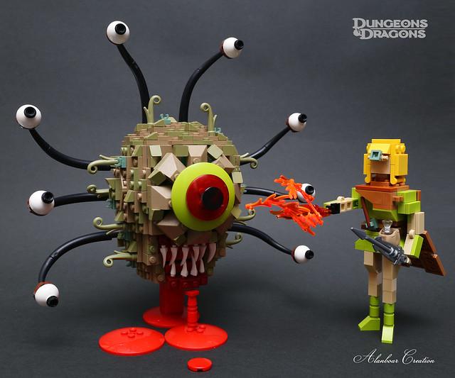 LEGO Beholder (D&D)