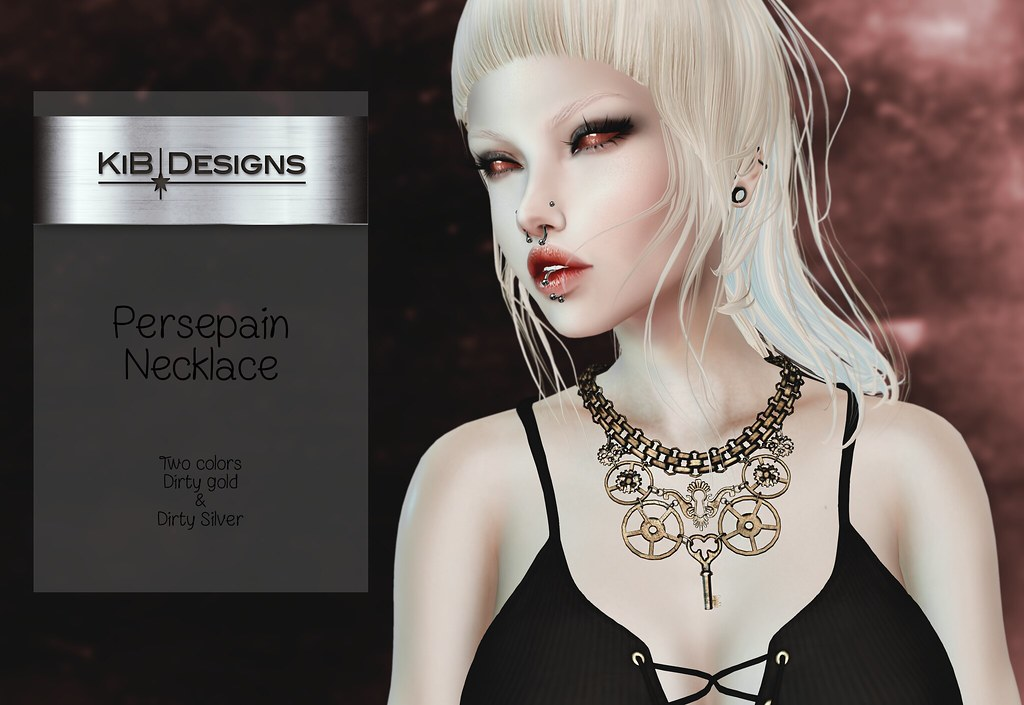KiB Designs – Persepan Necklace @Darkness Event