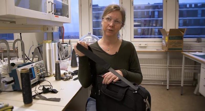 Anja Lund, ilmuwan asal Swedia melakukan percobaan yang memungkinkan keringat jadi daya untuk elektronik
