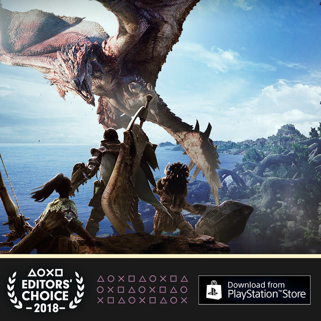 Editor's Choice: Monster Hunter: World