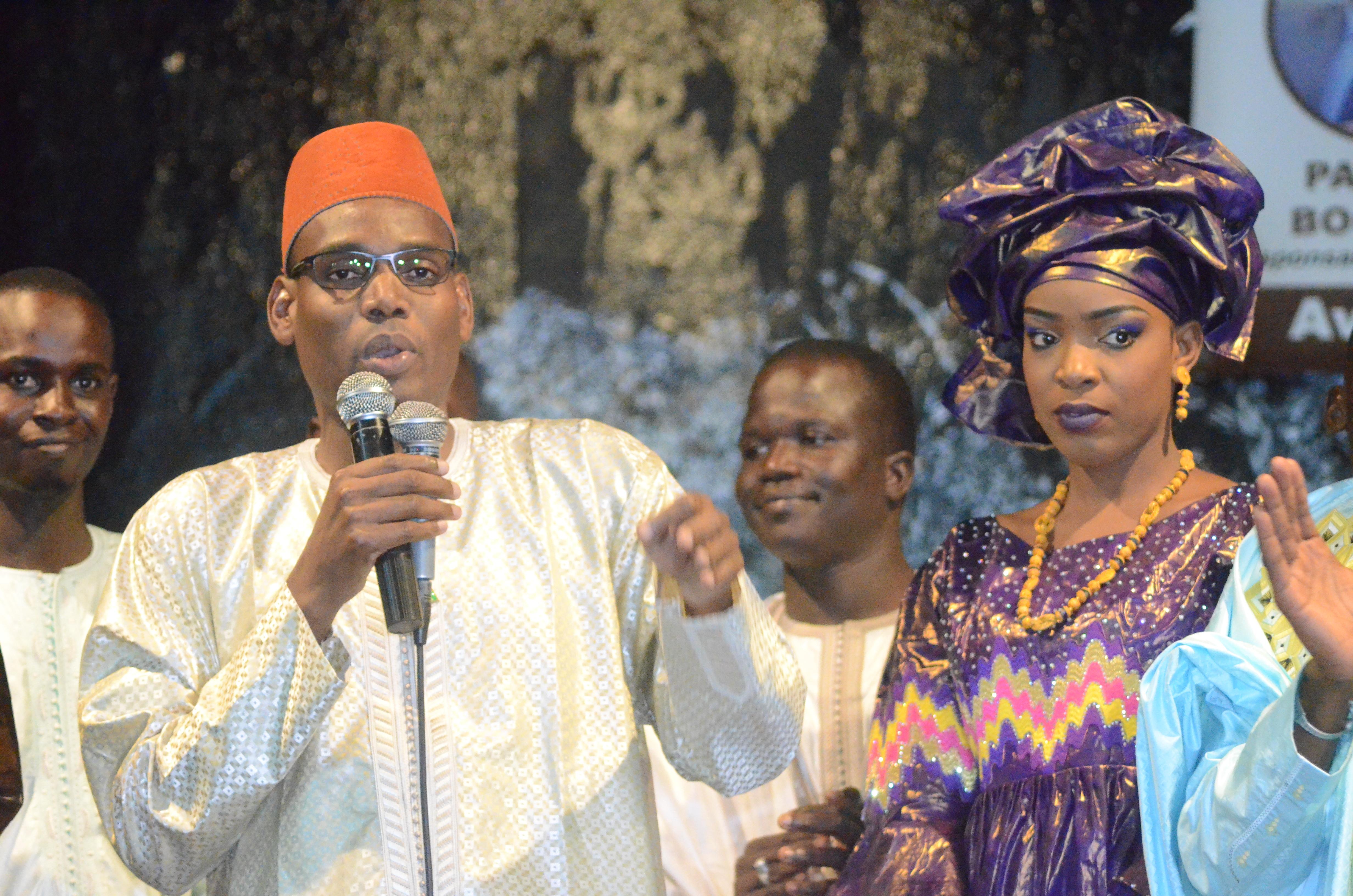 Première Edition soirée culturelle de l'Association Boyinadji Ma fierté de Bokidiawé, le parrain Bocar Abdoulaye Ly appelle à l'union des cœurs (50)