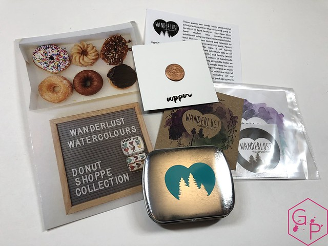 Mailbox Goodies Wanderlust Watercolours Donut Shoppe 2