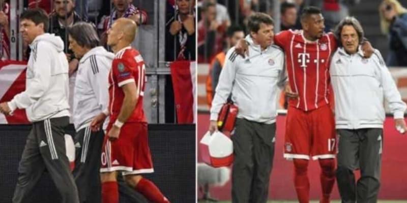 Arjen Robben Hanya Bertahan Enam Menit di Lapangan Akibat Cedera Otot