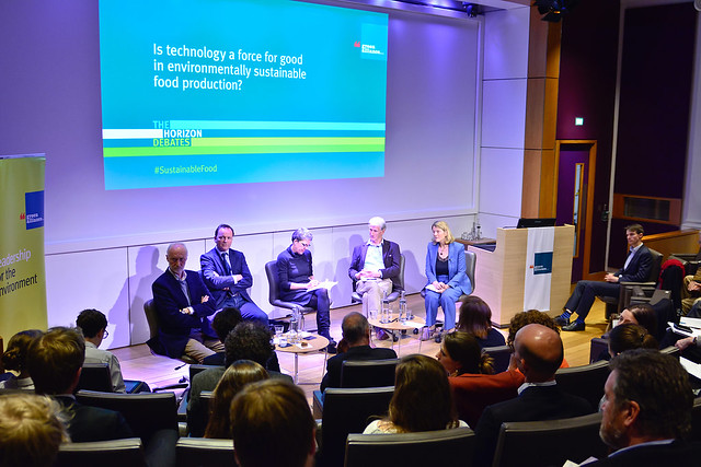 Horizon debate: Is technology a force for good in environmentally sustainable food production? 25 April 2018