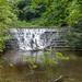 Small waterfall outside Bersham, Nr Wrexham North Wales.