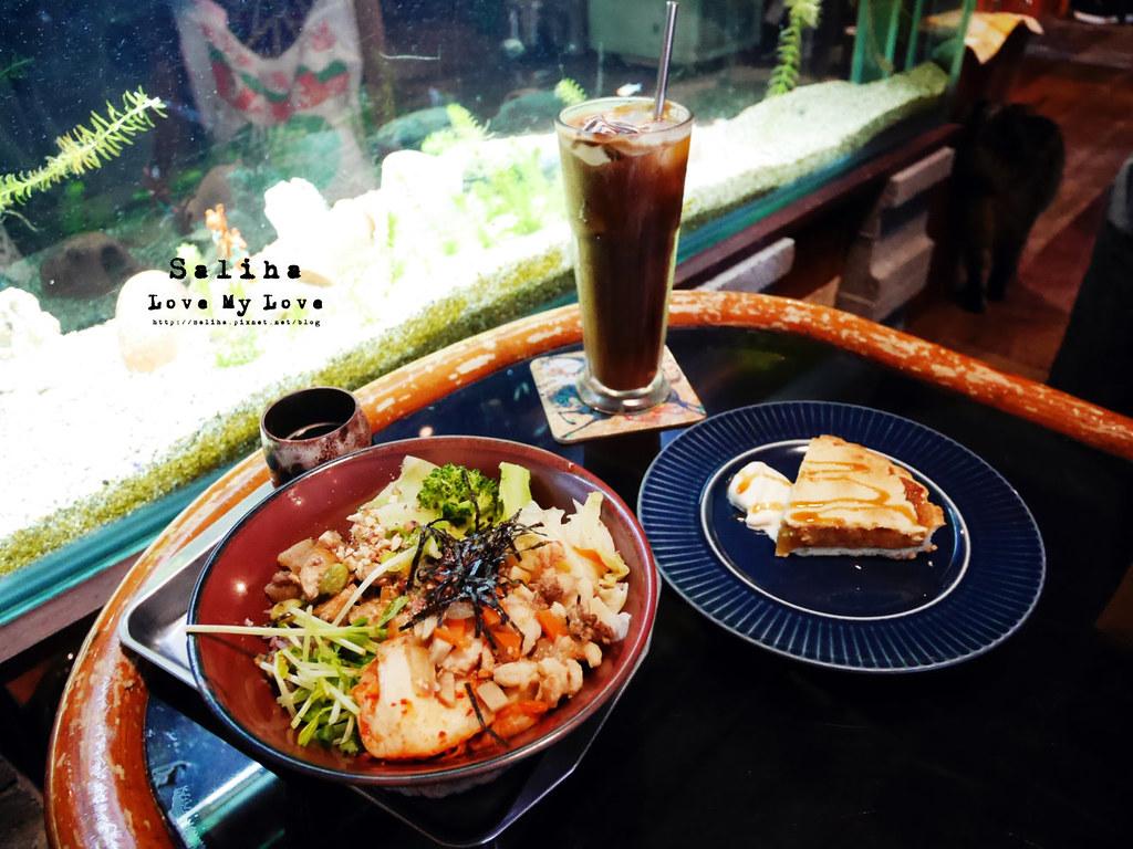 台北士林區天母ZABU食堂拌飯餐點午餐 (1)