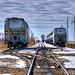 Small photo of Iowa River Railroad Yard near Ackley, IA