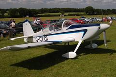 G-CFDI Vans RV-6 (23116) Popham 140609