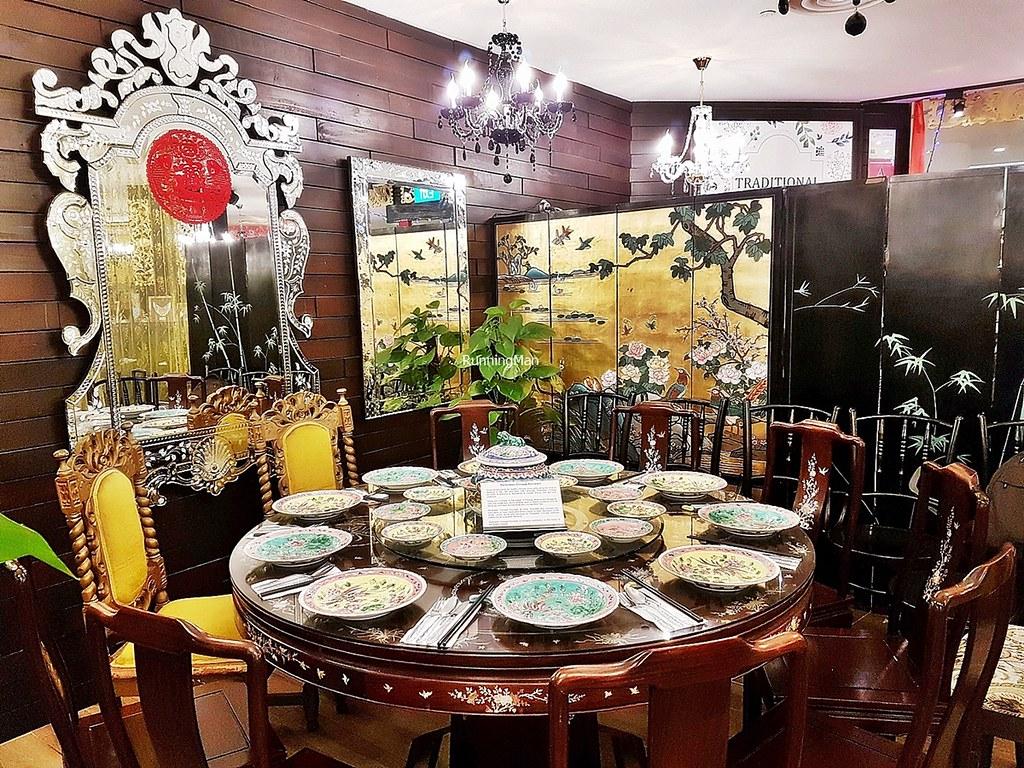 The Peranakan Restaurant Seating