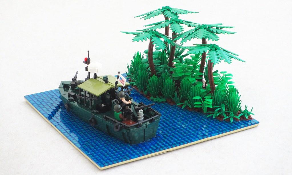 Vietnam War Patrol Boat Riverine