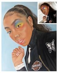 nigga oil painting