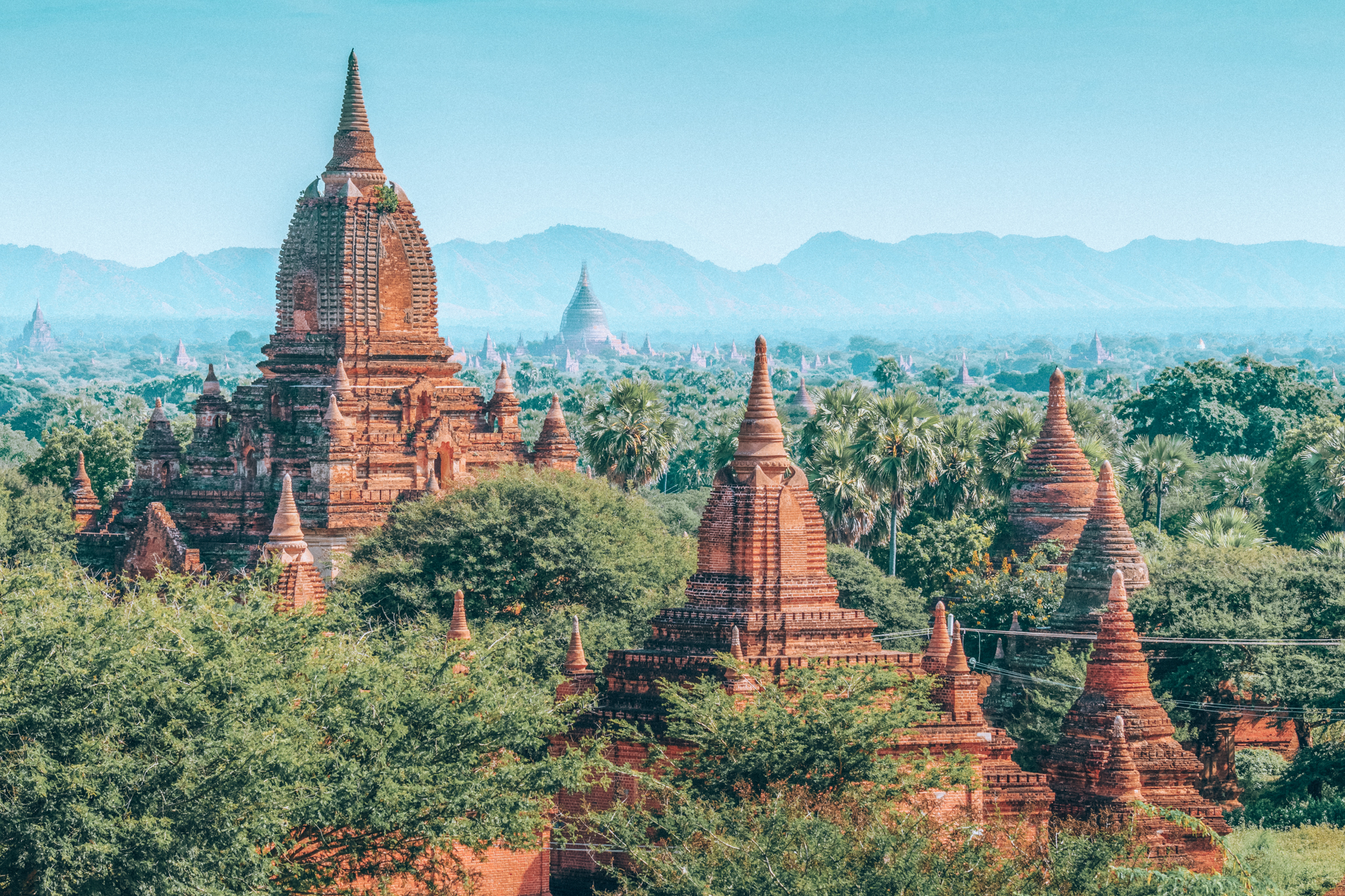 what to do in bagan - temple hopping