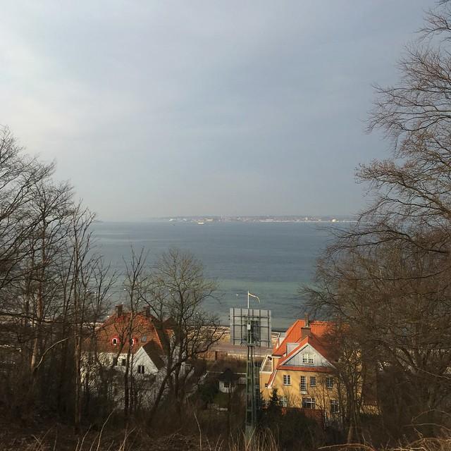 monday, the view, the ocean, landborgen, helsingborg