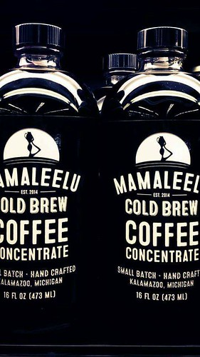 Mamaleelu Cold Brew. From The Complete Guide to Kalamazoo Coffee Shops