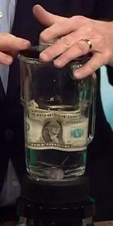Dollar bill Blender test