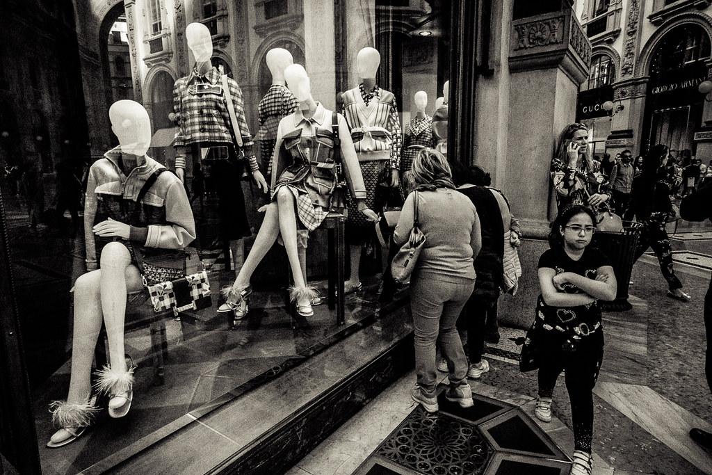 the best attitude b83dd a75f4 Galleria Vittorio Emanuele II 7 - Showroom dummies ...