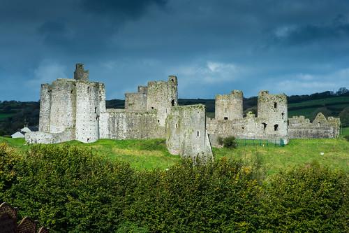kidwelly wales castle burg castellcydweli norman normancastle 11jahrhundert