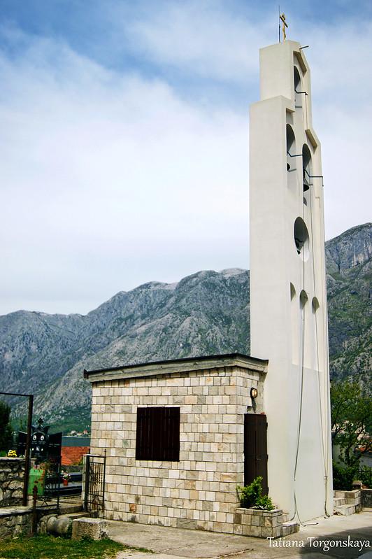 Звонница церкви Св. Петра Цетинского