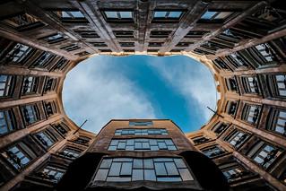 Looking up series | No. 3 | Casa Mila