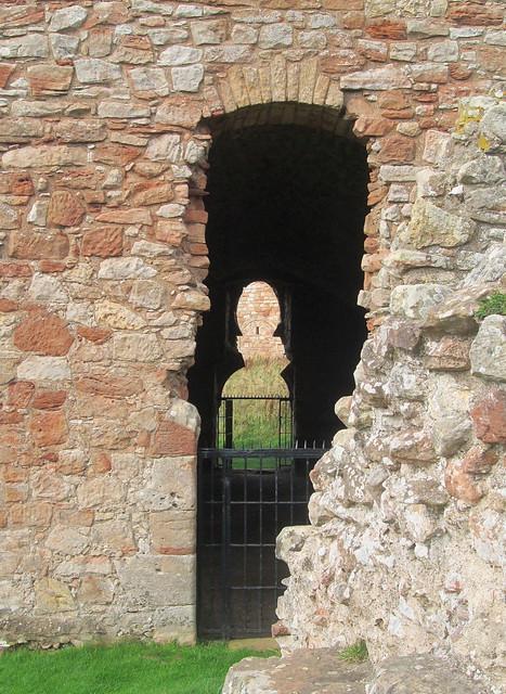 Crichton Castle, Through Stables