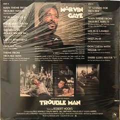 MARVIN GAYE:TROUBLE MAN(JACKET B)