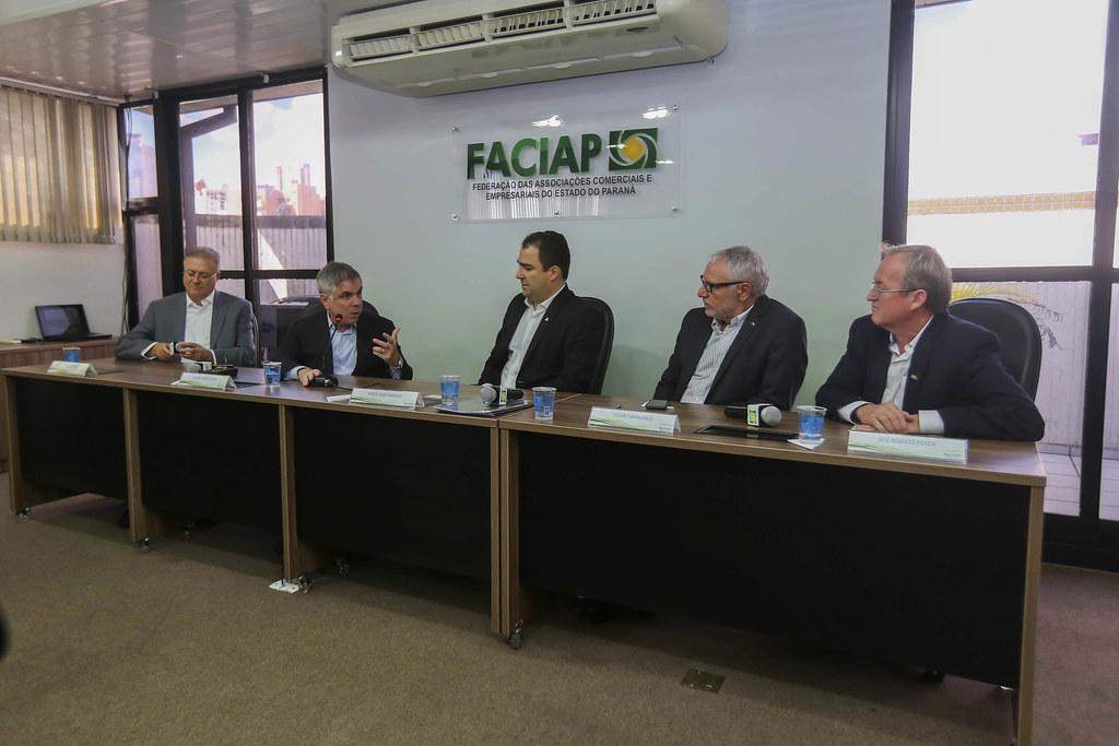 Palestra na Faciap com Flavio Rocha
