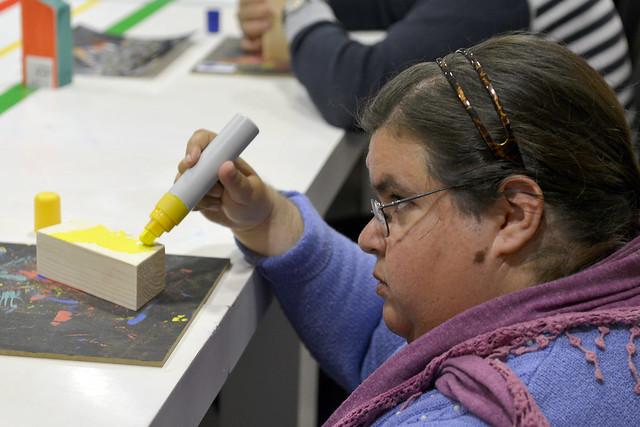 Taller para personas con discapacidad Espais d'Art