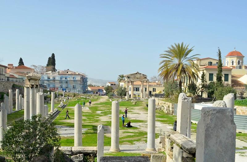 Augusto y Julio César son los artífices de la construcción del Ágora Romana en el siglo I a.C