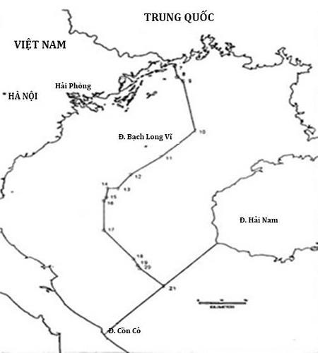 Ban do Vinh Bac Bo