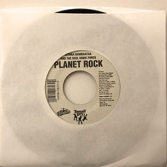 AFRIKA BAMBAATAA AND THE SOUL SONIC FORCE:PLANET ROCK(JACKET A)