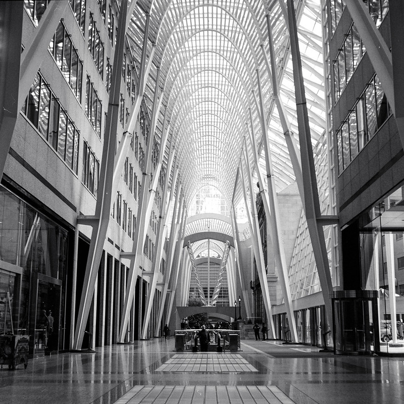 Brookfield Place on Saturday