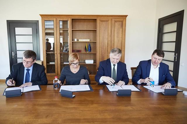 Bendradarbiavimas biomasės energetikos srityje įtvirtintas sutartimi