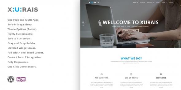 Xurais - Creative Business WordPress Theme