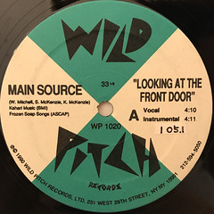 MAIN SOURCE:LOOKING AT THE FRONT DOOR(LABEL SIDE-A)