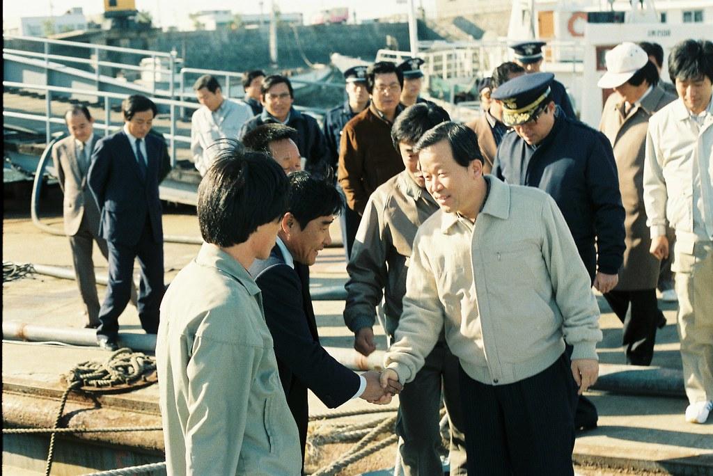 출처 : 경기도 촬영일 : 1984-10-21 이해구 경기도지사 옹진군 영종면,유유면 순시
