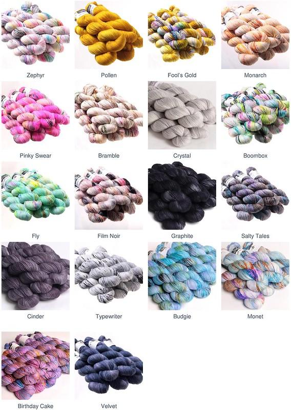 Hedgehog Fibres Sock yarn coming very soon!