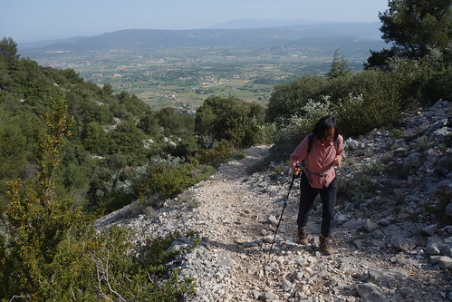 Walking in the Le Petit Luberon - Near Oppede, France