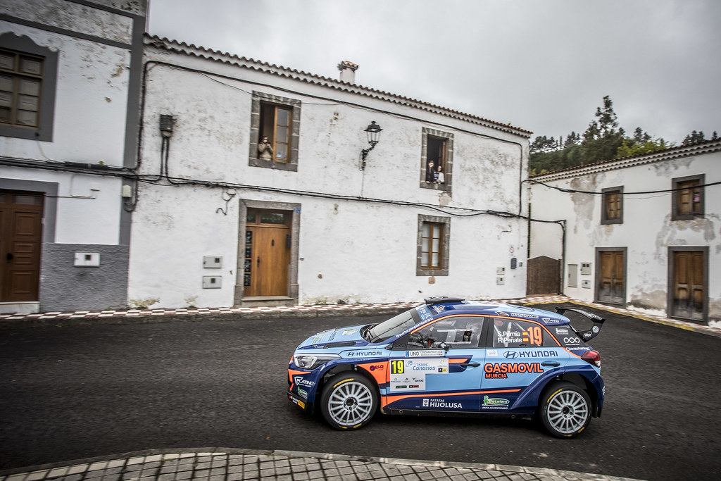 19 PERNIA Surhayen, PENATE Rogelio, Hyundai Motor Espana Hyundai i20 R5, action during the 2018 European Rally Championship ERC Rally Islas Canarias, El Corte Inglés,  from May 3 to 5, at Las Palmas, Spain - Photo Gregory Lenormand / DPPI
