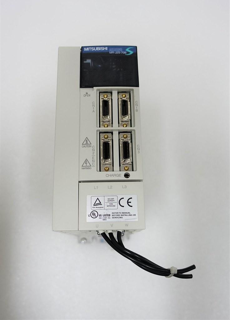 mitsubishi mr j2s 70b ac servo amplifier melservo j2 super series rh ebay com J2S Staffing mr j2s 70a manual