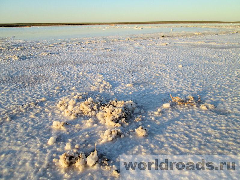Солёное озеро Астраханская область