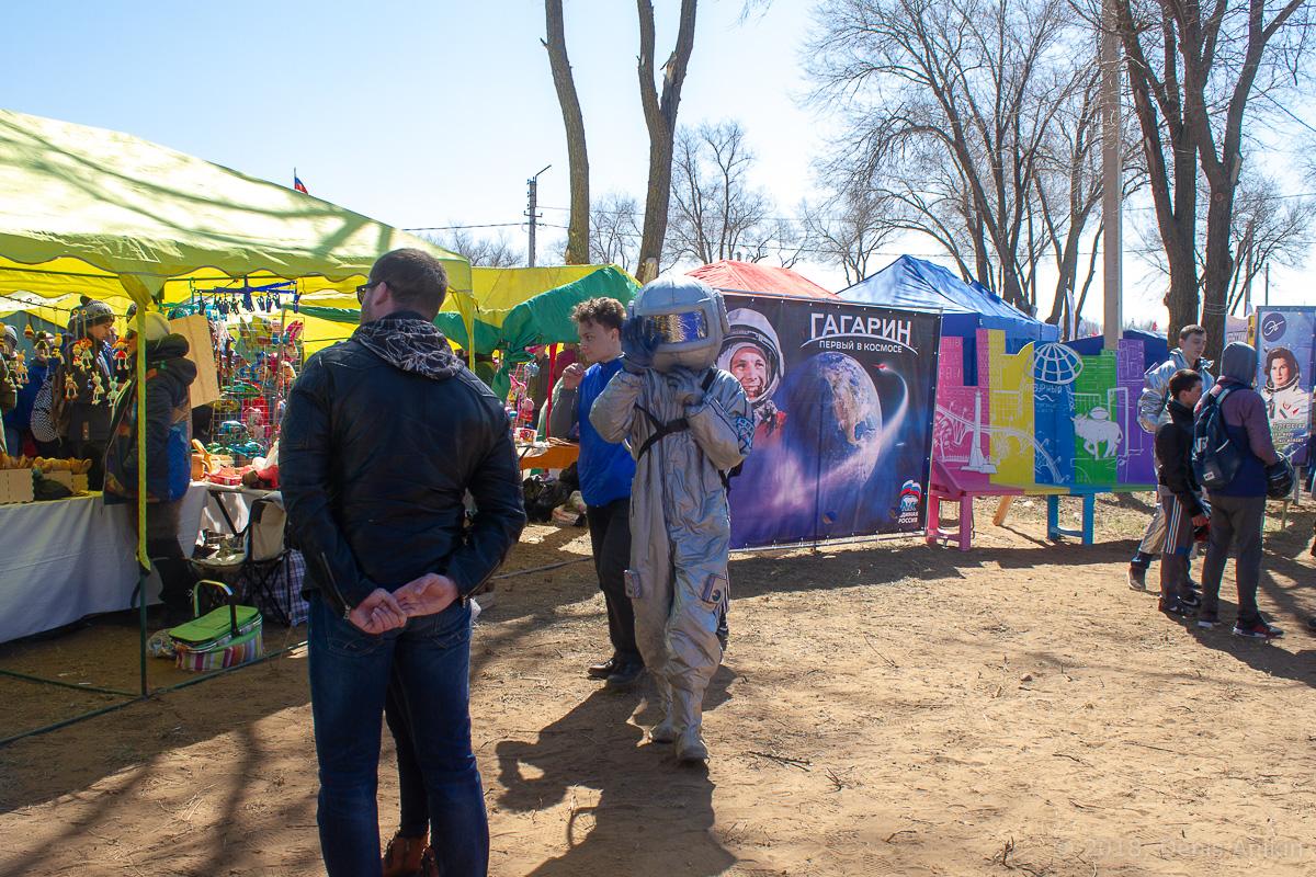 День космонавтики на месте приземления Гагарина фото 14