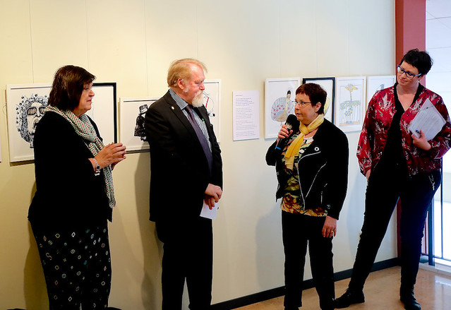 Margareta van den Bosch, Lars-Olof Johansson, Gerd Aronsson och Carina Milde